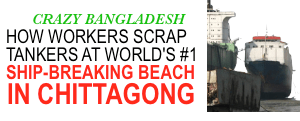 chittagong ship breaking beach bangladesh journalist