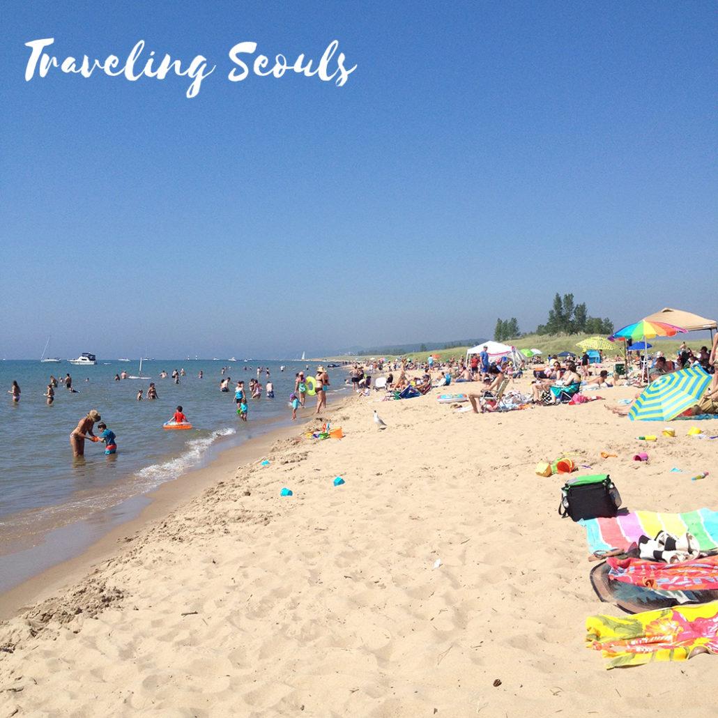 Saugatucks Oval Beach  Traveling Seouls