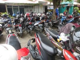 So. Many. Motorbikes.Everywhere.