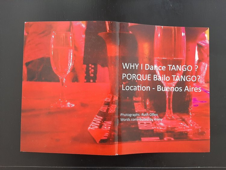 Why I dance Tango Book by Ruthoffen.comCover