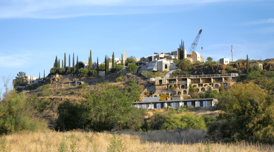 Visit Arcosanti from local small towns in Arizona