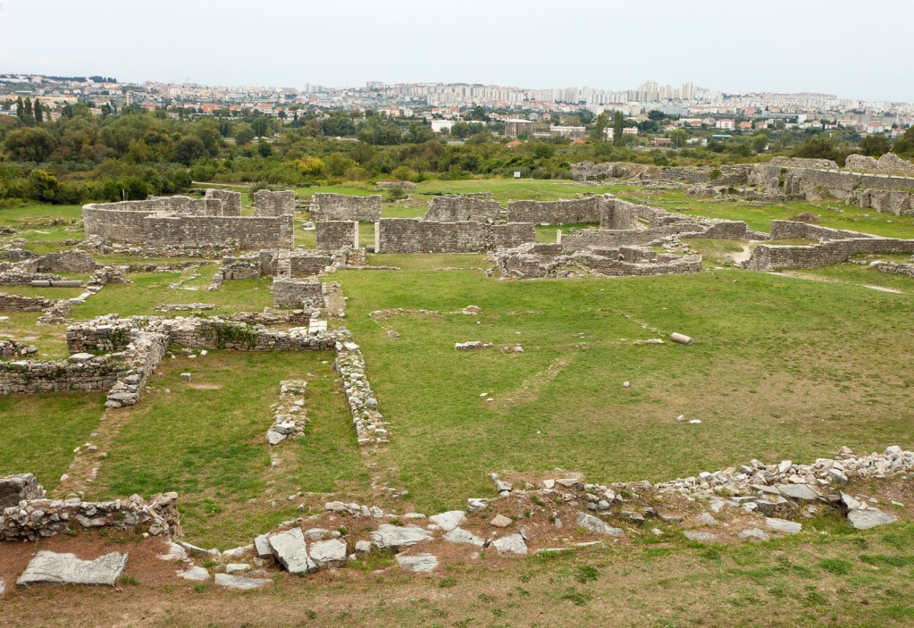 Ancient Ruins Near Split, Croatia