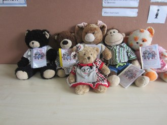 Tessie was introduced to our classroom 'Learner Bears'
