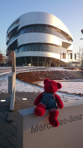 Germany is famous for Mercedes-Benz! Jerry went to their museum.