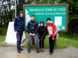 Hiking in Tierra del Fuego with New Latvian Friends