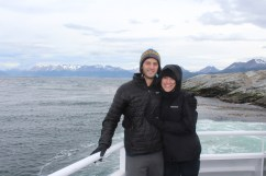 Boating on the Beagle Channel