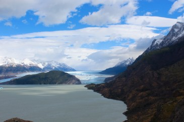 Grey Glacier & Surrounding Mountains