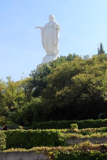 Virgin Mary Atop Cerro San Cristobal