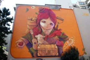 Mural on Santiago's Streets