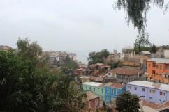 Valparaíso in Morning Fog