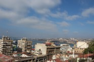 Valparaíso in Afternoon Sun