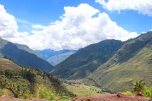 Drive through the Sacred Valley