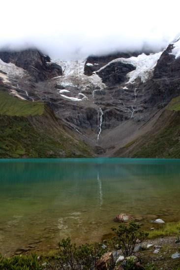 Lake Near Glacier