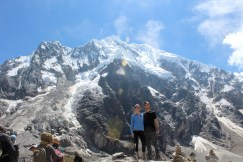 Day 2 View of Salkantay Mountain