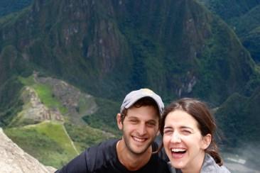 At the Summit of Machu Picchu Mountain