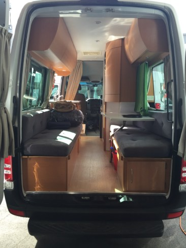 Campervan - View from Back