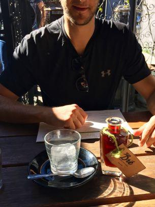 Iced Coffee at Chez Drez