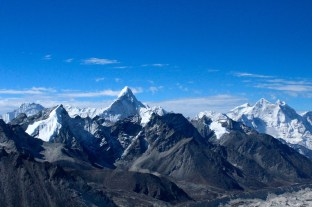 View of Snow-Capped Peaks from Kala Patthar (5,545 meters)