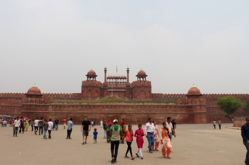 Delhi's Red Fort (Outside)