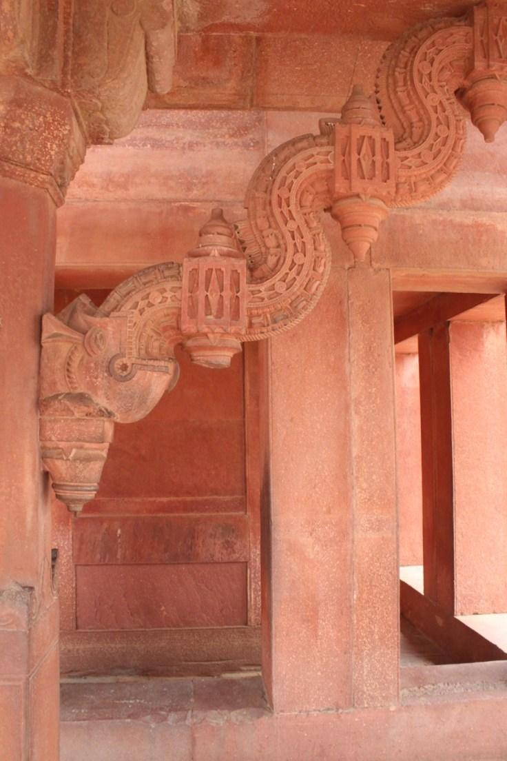 Elephant Column at Fatehpur Sikri