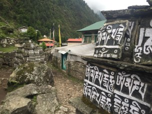 Buddhist Prayers Enroute to Lukla (Day 12)