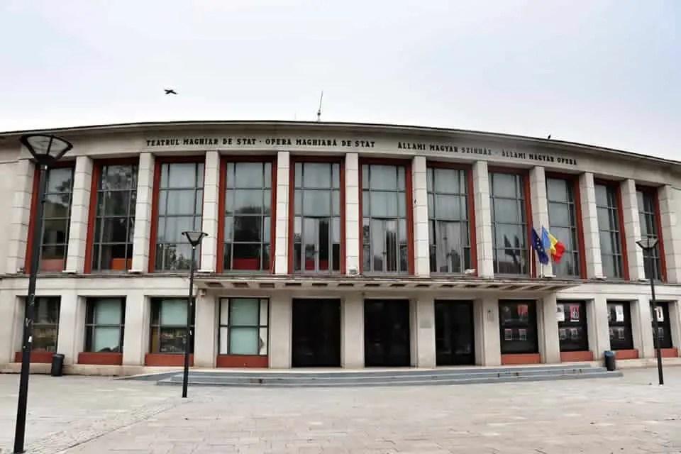 Hungarian National Opera in Cluj Napoca, Romania
