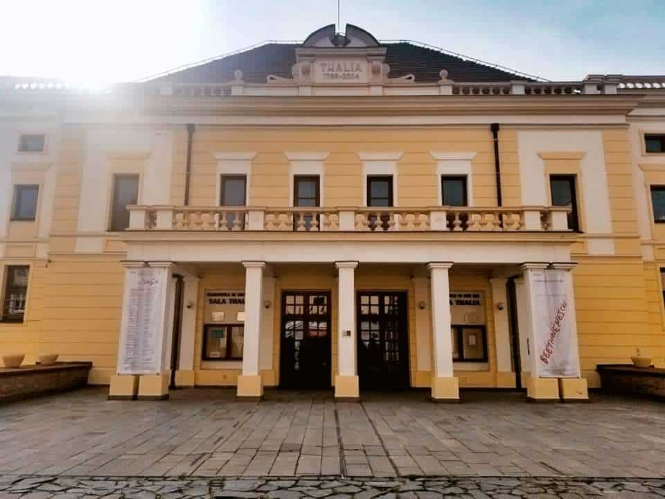 Sala Thalia, where the State Philharmonic in Sibiu is held