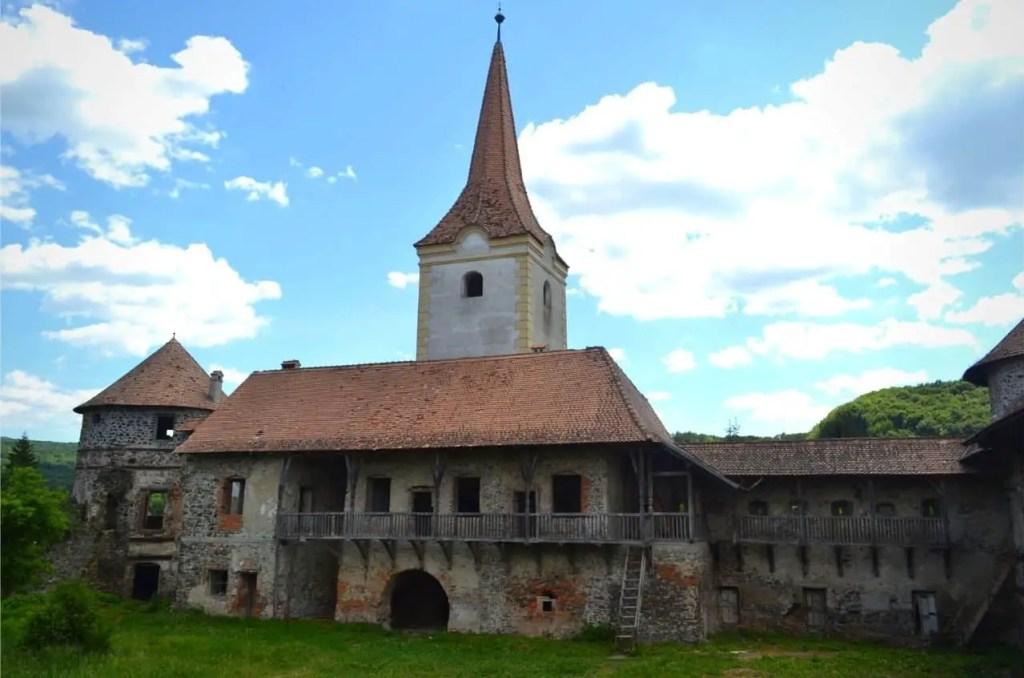 Old, abandoned Sukosd-Bethlen Castle in Transylvania, Romania.