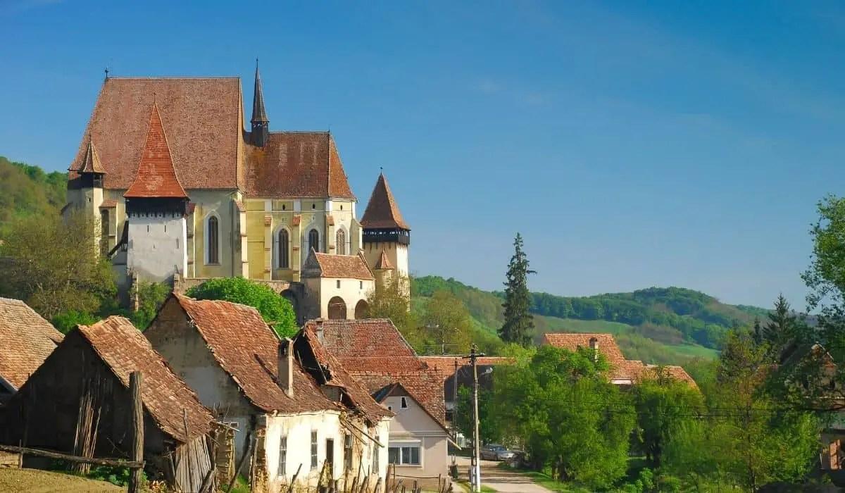 Biertan, Romania - fortified churches of Transylvania
