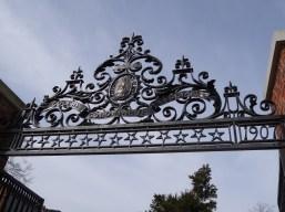 Gate ironwork