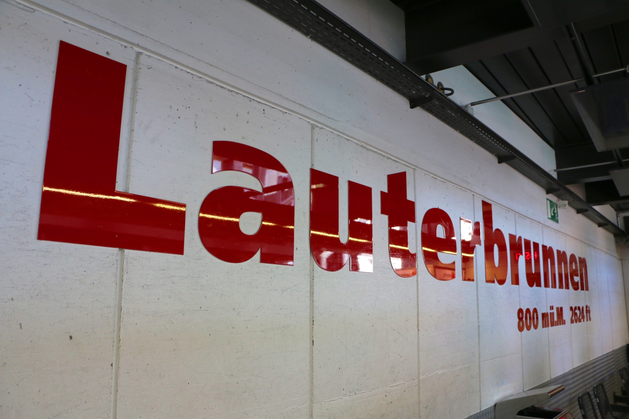 Lauterbrunnen Cable Car