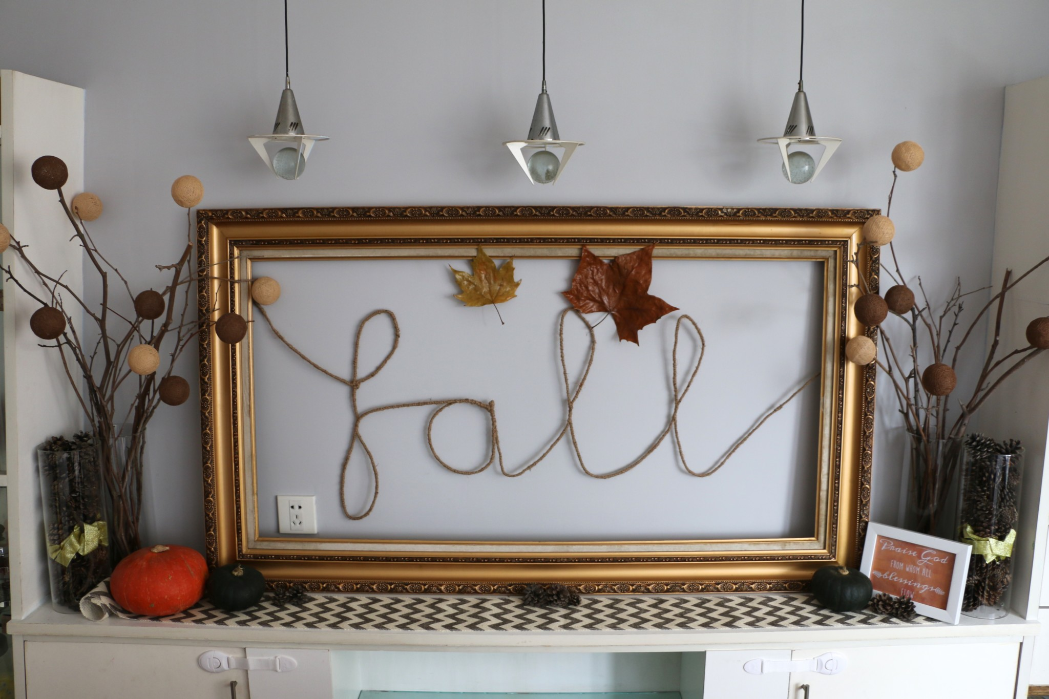 Fall Sign│Twine Craft