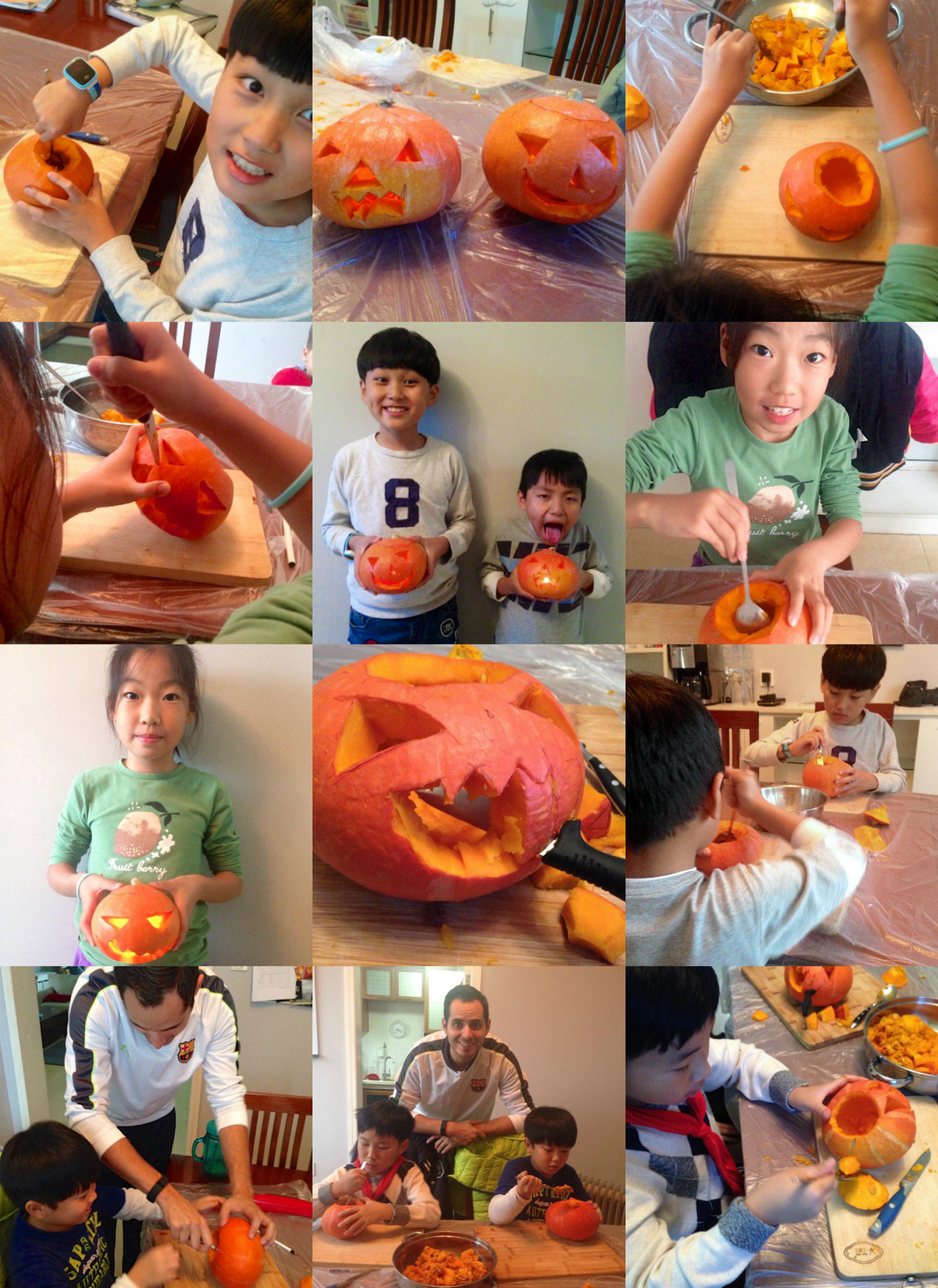 Carving with the Kids
