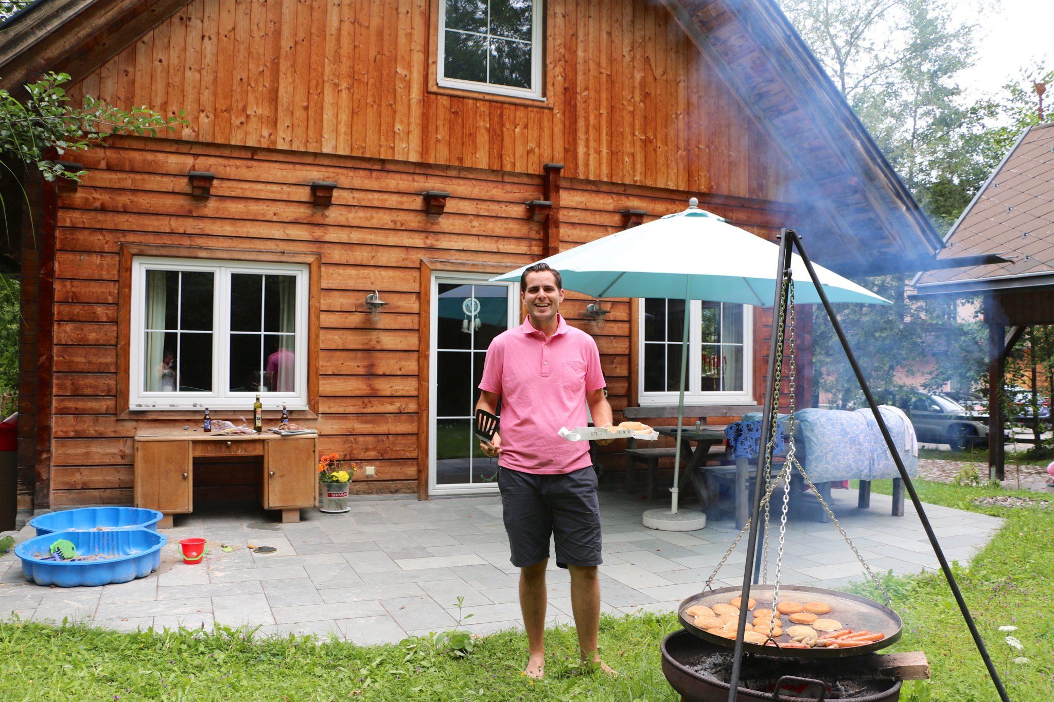 Grilling Fir Pit Austria