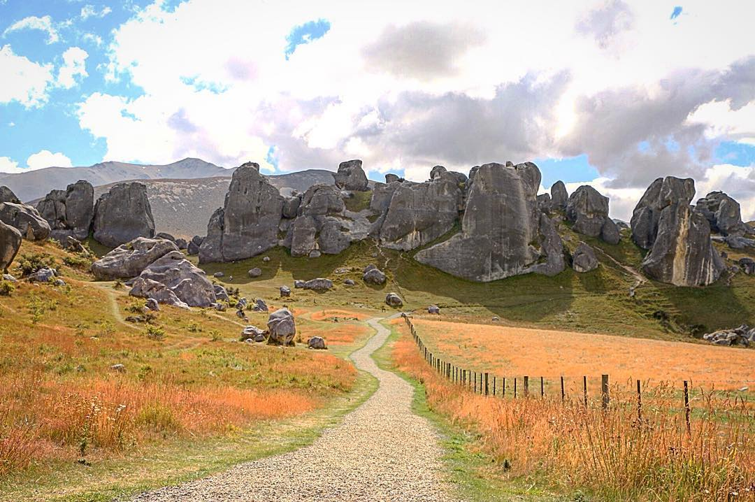 Castle Hill New Zealand One of our favorite places onhellip