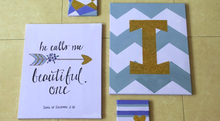 He Calls Me Beautiful One {Canvas Art}