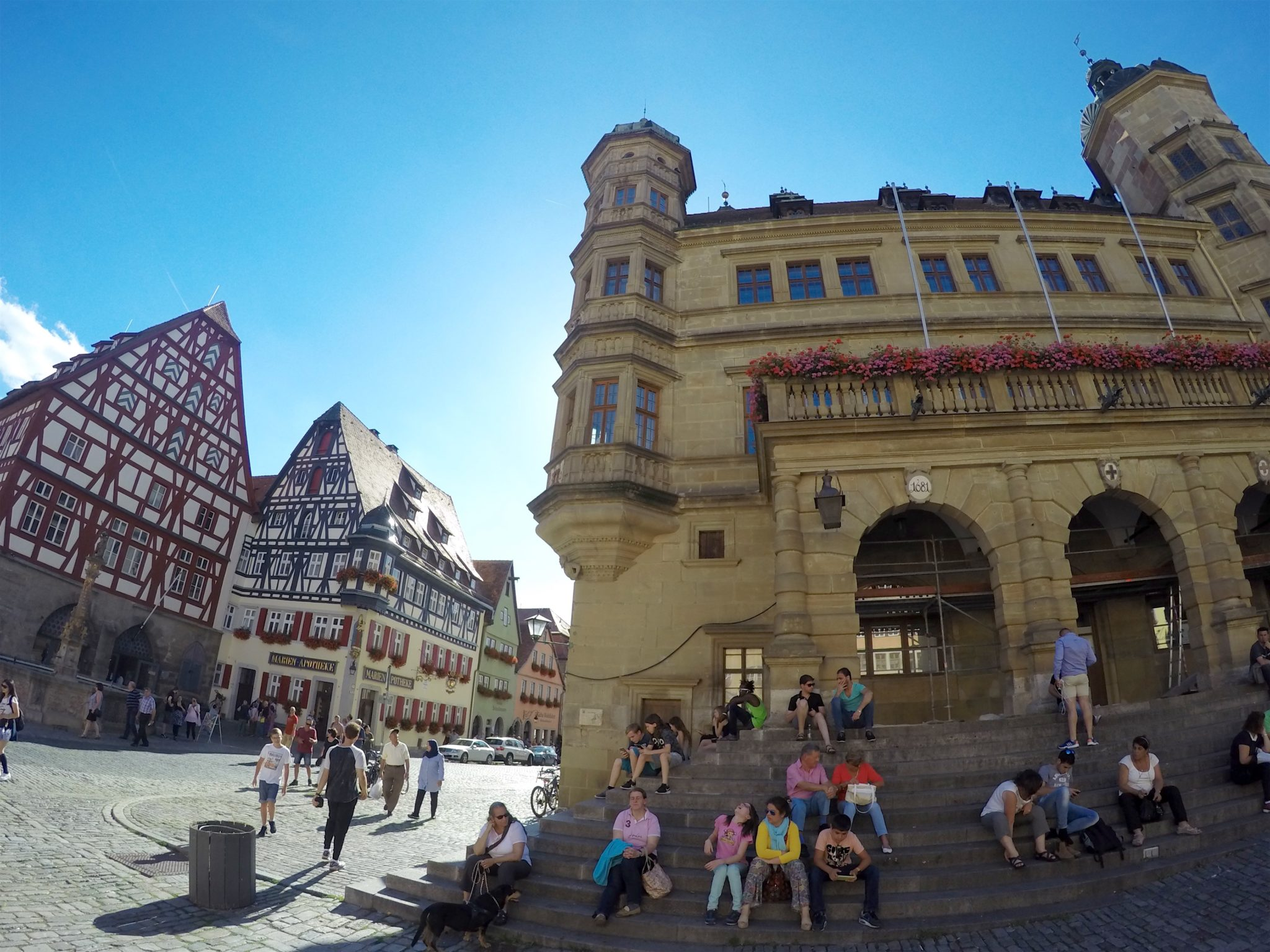 Rothenburg Town Hall Tower