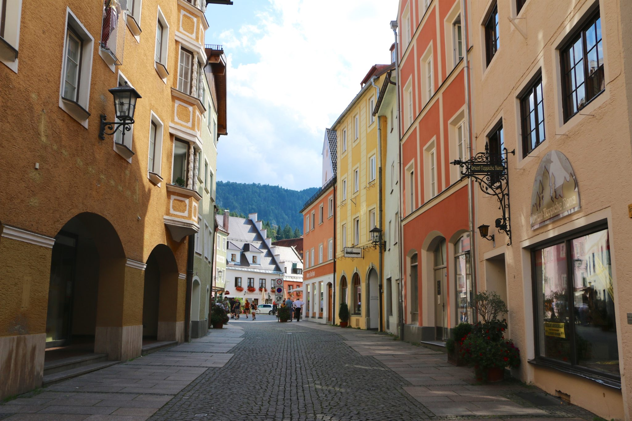 Teppich Franz Augsburg End Of The Romantic Road Füssen Germany Traveling With Jc