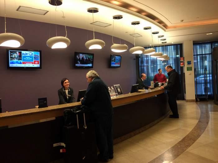 A Look Inside the Milan Hilton Hotel