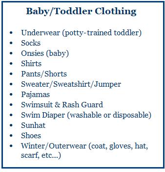 Baby-Toddler Clothing
