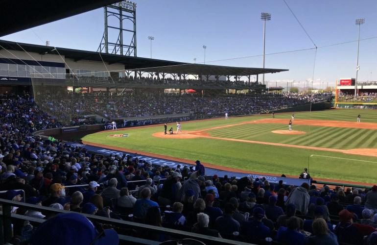 Sloan Park, Mesa, Arizona-home of the Chicago Cubs