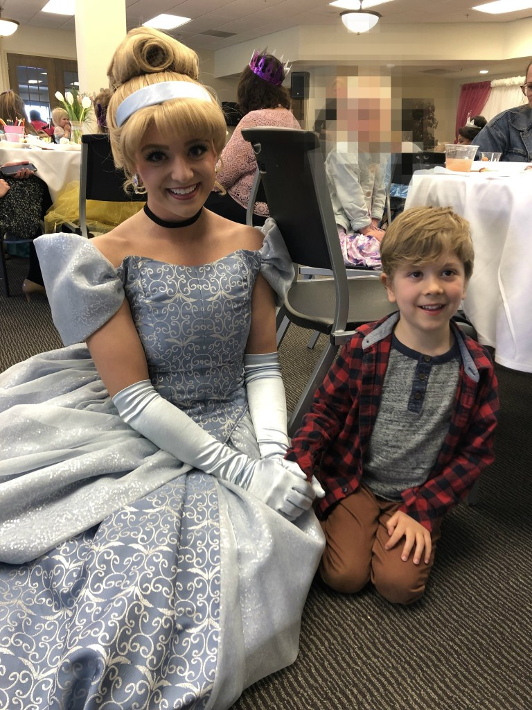 Tulip Time for families, Tulip Princess Tea Party with Cinderella
