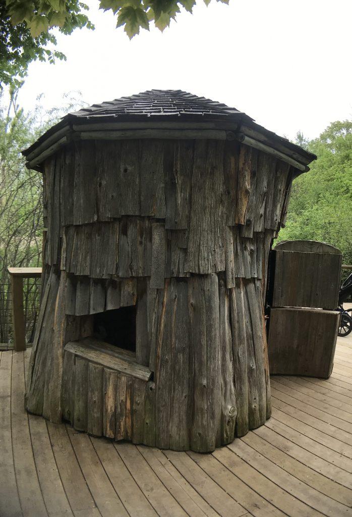 Storytelling Garden puppet hut at the Frederik Meijer Gardens & Sculpture Park