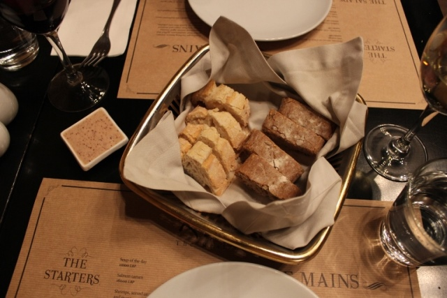 Rare Restaurant Bread