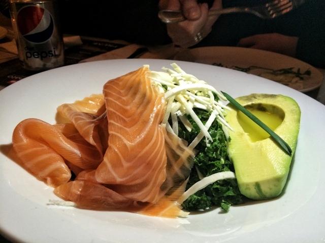 Prune Mar Mikhael Salmon Salad