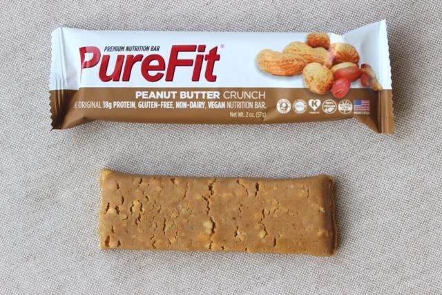 PureFit Bar Unwrapped Peanut Butter