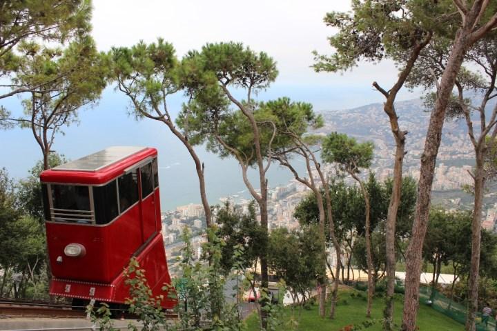 Harissa Lebanon Funicular