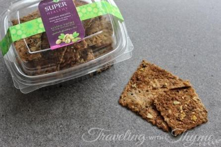 Super Healthy Homemade crackers vegan lebanon