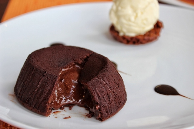 Gordon's Cafe Le Gray Fondant au Chocolat