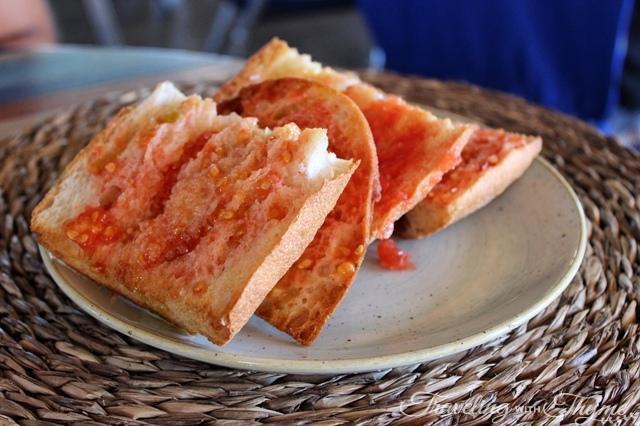 tomato bread escriba paella